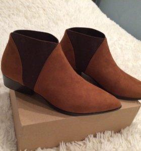 Женские ботинки из MANGO