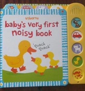 Книжка для самых маленьких на английском. Новая