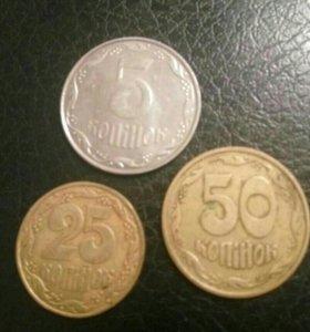 Украинские монеты