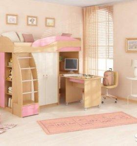 Детская кровать чердак-'непоседа,,