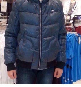 Куртка пуховик теплый XL