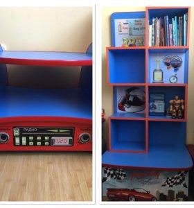 Детская мебель, для мальчика, тачки