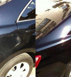 Химчистка, полировка, защитные покрытия автомобиля