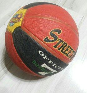 Мяч баскет.