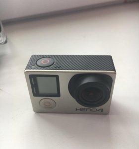 Экшн камера GoPro Hero 4 Silver