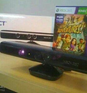 Продам Kinect с коробкой + диск с игрой