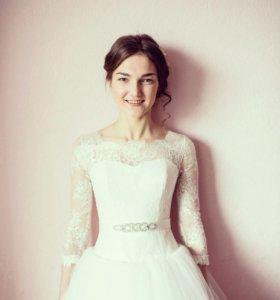 свадебное платье дизайнерское от Kaplun