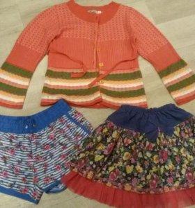 одежда для девочки 4-6лет