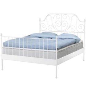 Каркас кровати+матрас+реечное дно