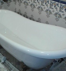 Новая ванна за 2 часа. Реставрация ванн