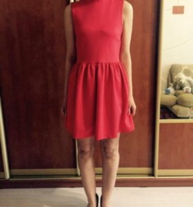 Платье красное Topshop