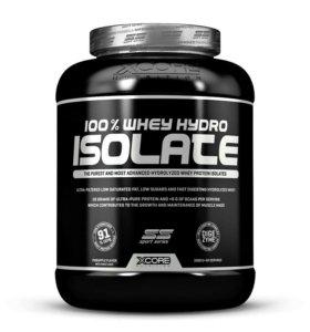Изолят 100% whey hydro isolate