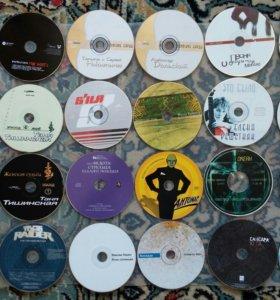 24 диска разной музыки