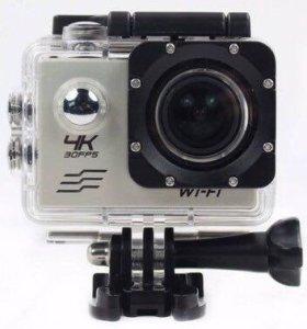 Экшн Камера 4К Ultra HD с wifi модулем