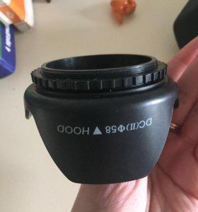 Бленда на canon 58 mm