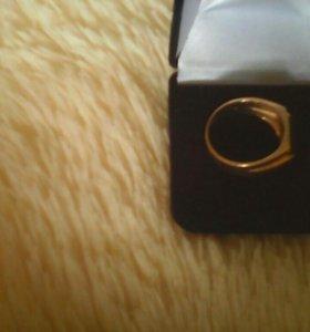 Кольцо-печатка 585 проба