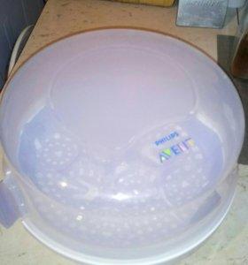 паровой стерилизатор для СВЧ Philips avent