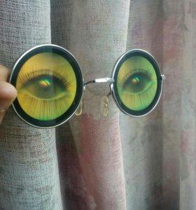 Весёлые очки от солнца