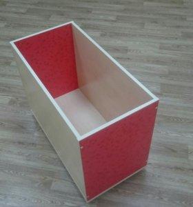 Ящик для детских игрушек на колёсиках