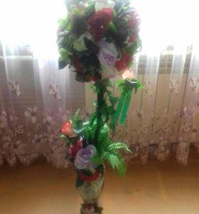 """Топиарий """"Цветочный рай"""""""