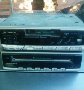Магнитофон диски-касеты