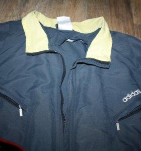 Куртка тонкая ветровка adidas мужская