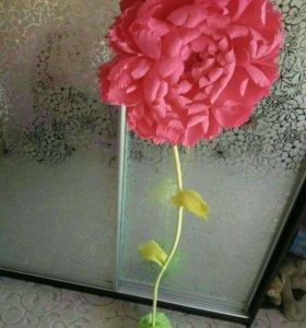 Декоративные цветы,на заказ.