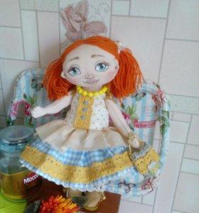 Кукла текстильная интерьерная на заказ