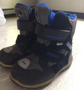Ботинки зимние, мембрана