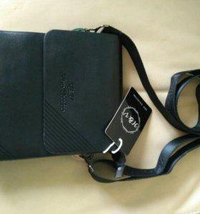Новая сумка-планшет мужская