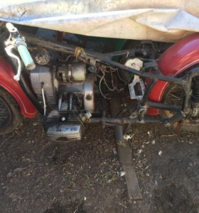 Двигатель от мотоцикла Днепр(рабочий)