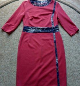 Платье, рвзмер 50