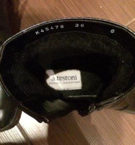 зимние ботинки a. Testoni