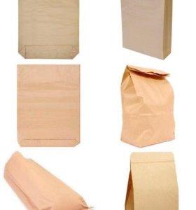 Крафт мешки( пакеты)