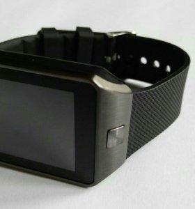 Умные часы DZ09 темный цвет