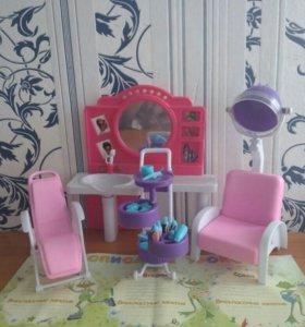 Салон красоты для кукол барби