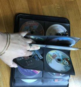 DVD - коллекция мультиков и детских фильмов 96 шт