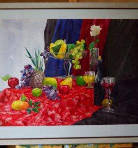 "Картина ""Изобилие"" 50х70 2016г."