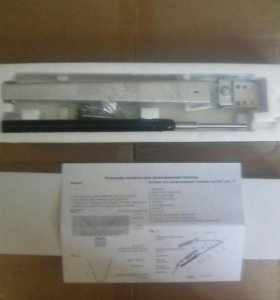 Термопривод с доводчиком для теплицы