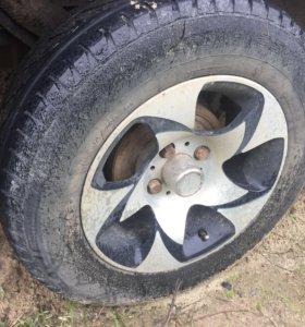 Комплект колёс 13