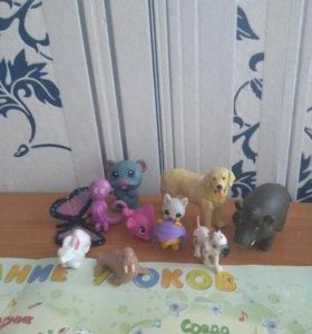 Животные для кукол