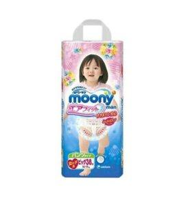 Трусики MOONY (12-17кг) 38шт для девочки