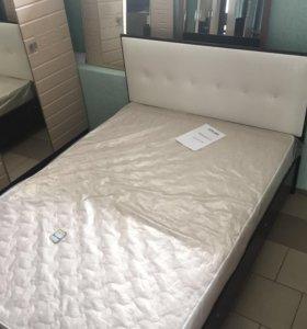 Кровать 2-х спальная новая, в наличии