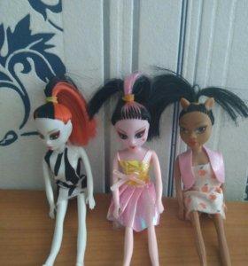 Маленькие куклы монстер хай