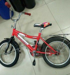 Велосипед 16 колеса
