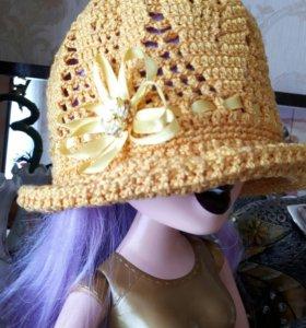Шляпка на девочку
