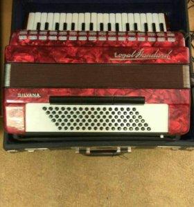 🎼 Коллекционный аккордеон Royal Standart Silvana
