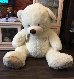 Большой плюшевый медведь/ мягкий мишка