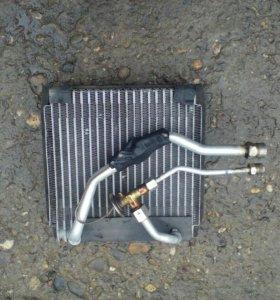 Радиатор печки хороший снятый с машины
