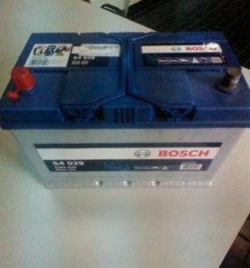 Аккумулятор bosch 95 ампер. Прямая полярность